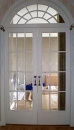 Арочная дверь 1