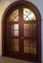 Арочная дверь 11
