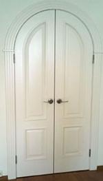 Арочная дверь 4