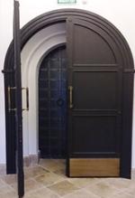 Арочная дверь 12