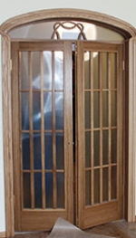 Арочная дверь 8
